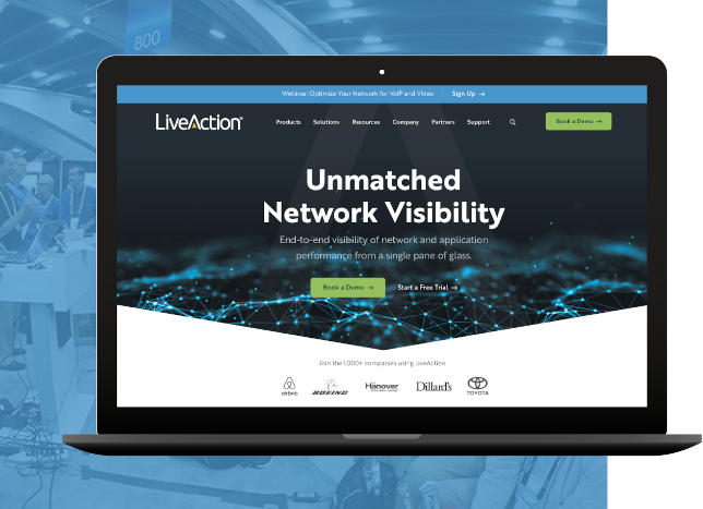 LiveAction Project Homepage