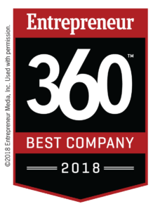 Entrepreneur Magazine 360 Badge