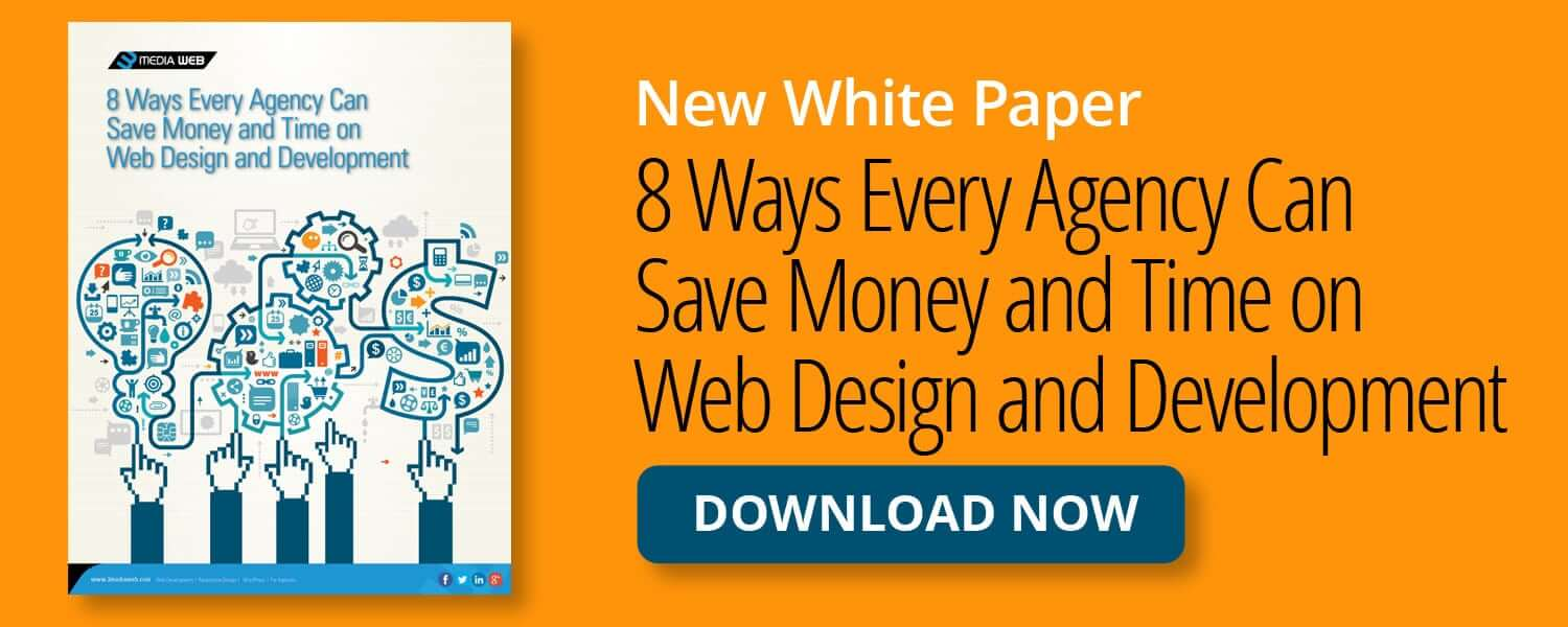 8 ways every agency can save money and time on web design and development