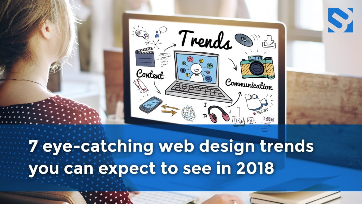 Web Design Trends to look for in 2018 image