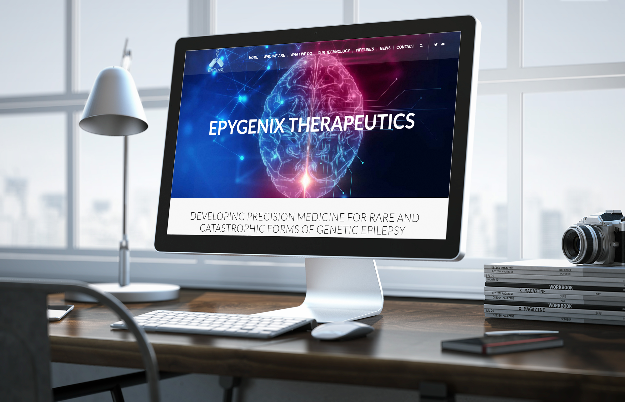 Epygenix Therapeutics Inc. Biotech Website Design, Health Sciences Website Design