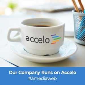 3MW Accelo Coffee Cup Graphic