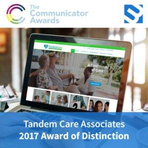 3ME award image for Tandem Care Associates