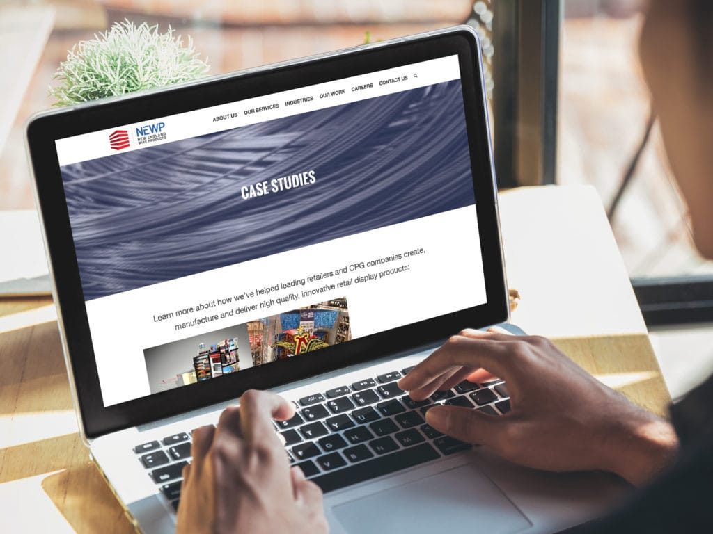NEWP Case studies web page