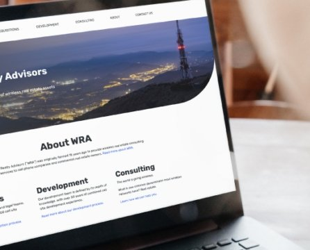 3MW Helps A Wireless Real Estate Consulting Company With A Web Redesign & Domain Change