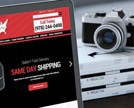 New B2B Website Design Launch: Saber1
