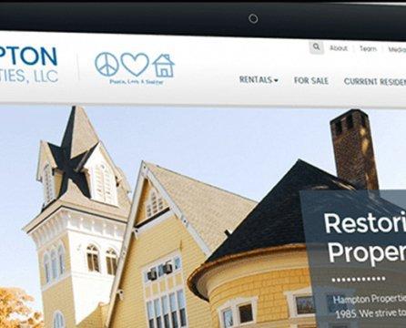 Historical Renovation and Real Estate Development Site Launch: Hampton Properties LLC