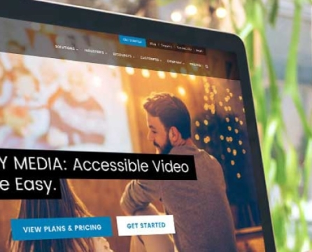 Website Launch for Innovator and Leader in Online Video Accessibility:  3Play Media