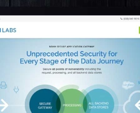 Website Launch for Innovative Data Security Company: BOHH Labs