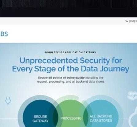 Bohh Labs website image with title: Website Launch for Innovative Data Security Company: Bohh Labs