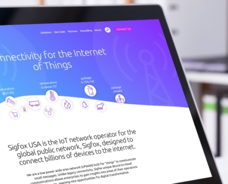 "Website Launch for Leader in Connectivity for the ""Internet of Things"": Sigfox USA"