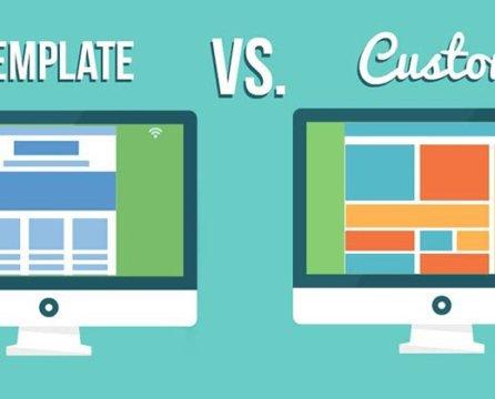 Custom Website Design vs. Templates — Let's settle this.