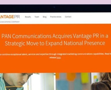 """Our Website Is Like a Member of Our Team"": How Vantage PR Revamped Its Website"
