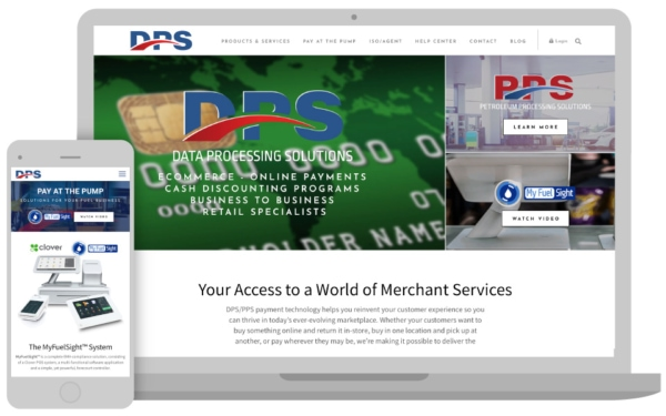 DPS needed better sales enablement solutions added to their website, so their recruited the help of 3 Media Web.