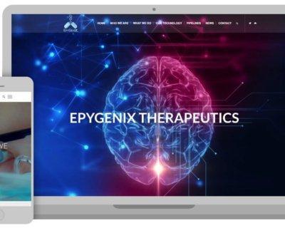 Epygenix Therapeutics Gets a New Website Design