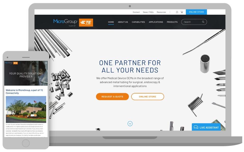 MicroGroup, a TE Connectivity Company