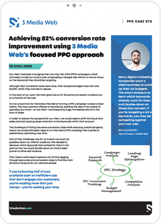 White Paper image about Achieving 82% conversion rate improvement