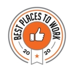 Best Places to Work 2020 Emblem