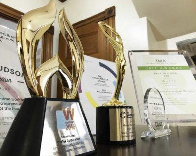 Best Biotech Website Award.