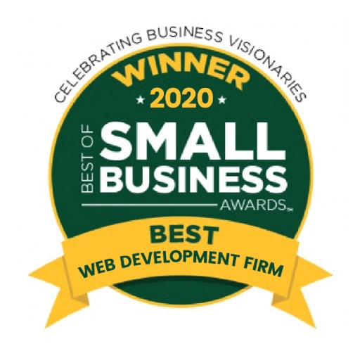 Best of Small Business Award 2020, 3 Media Web Named Top Web Development Agency