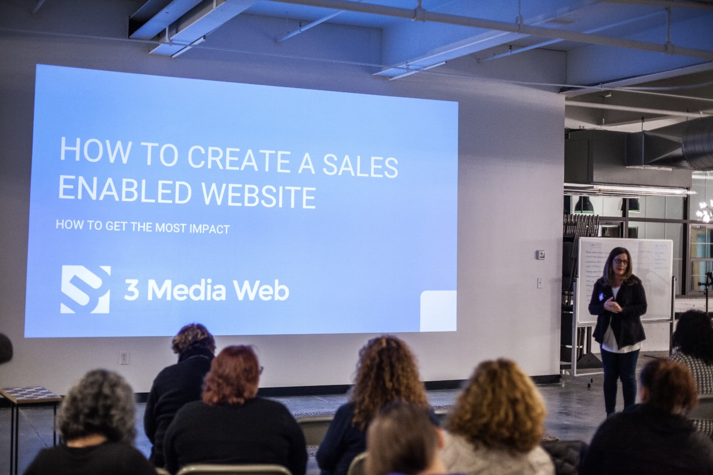 How to Create a Sales Enabled Website presentation with Lysa