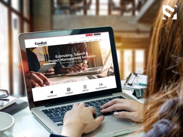 ConEst Gets a New Website UI Design