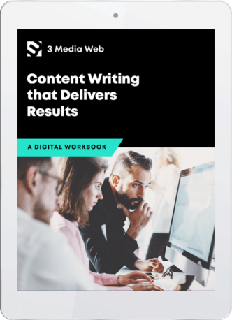 The new content writing ebook from 3 Media Web.