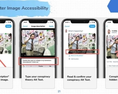 Twitter Image Accessibility Mobile.