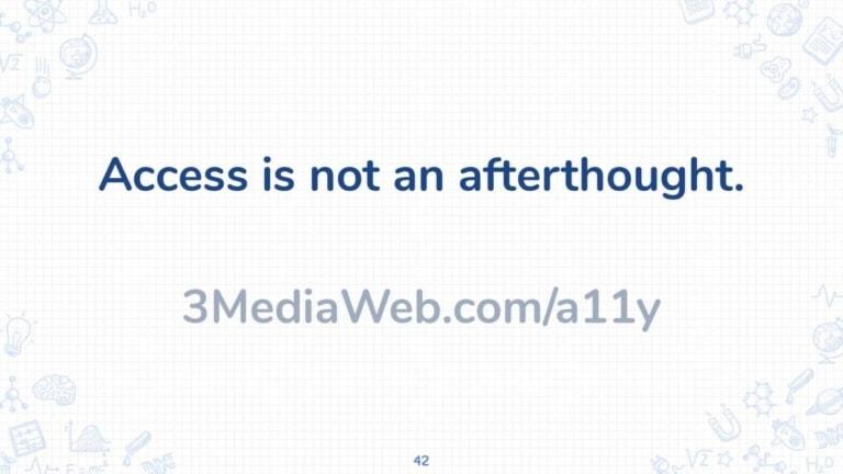 Digital Marketing Accessibility A11y – 42 Accessibility Mantra
