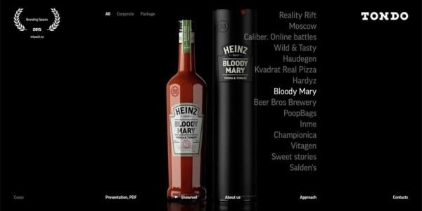 Edgy Website Design Examples Tondo Design