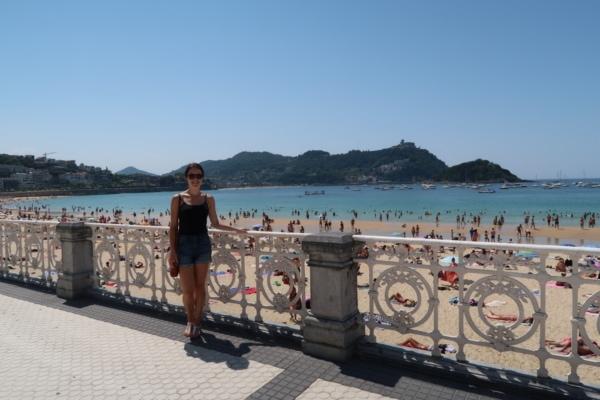 Julie in Spain
