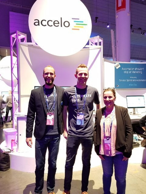 Meeting the Accelo Team at Inbound '17