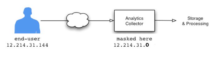 IP anonymization graphic © Google.
