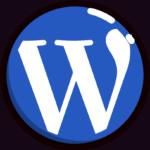 Icon WordPress logo.