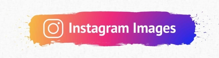 Instagram Image Accessibility Header.