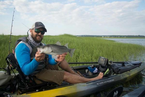 ben Duchesney kayak fishing