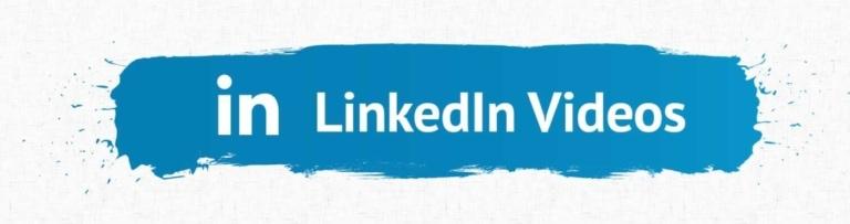 LinkedIn Video Accessibility Heading.