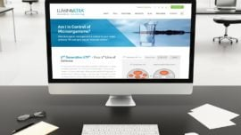LuminUltra - Canadian Biotech Website Design, Boston MA, Fredericton NB