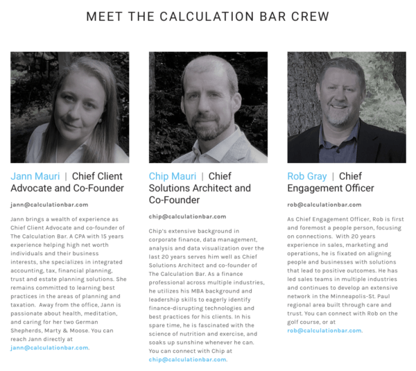 Meet the bar crew