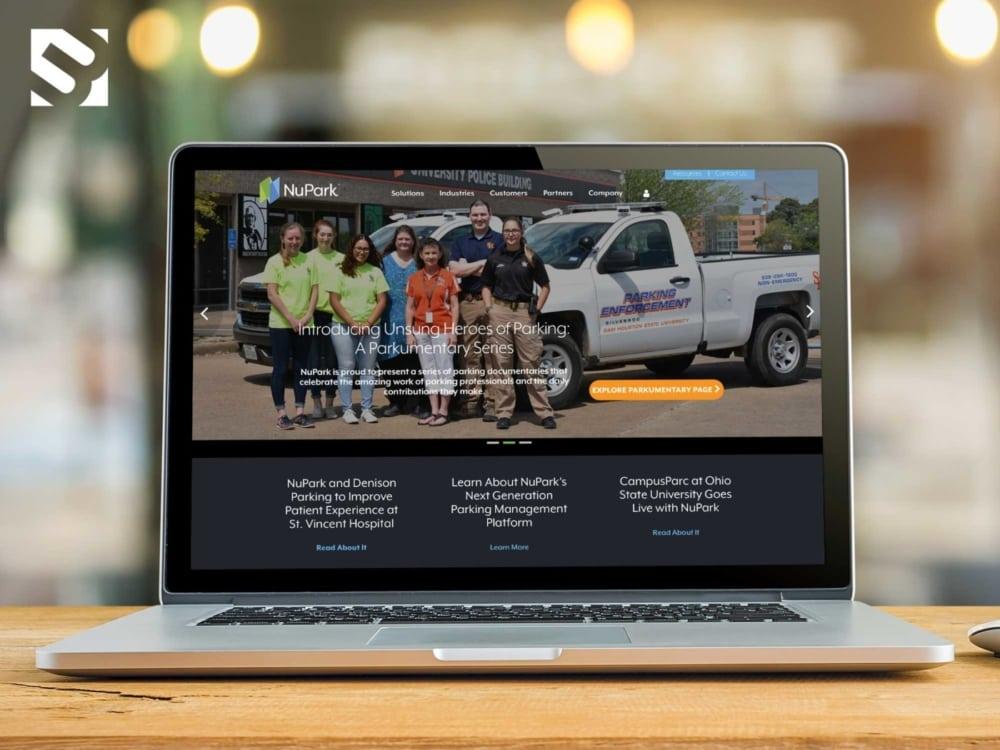 NuPark Gets a Website Makeover