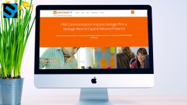 """""""Our Website Is Like a Member of Our Team"""": How Vantage PR Revamped Its Website"""
