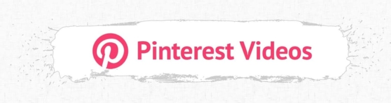 Pinterest Video Accessibility Heading.