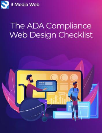 The ADA Compliance Web Design Checklist cover.