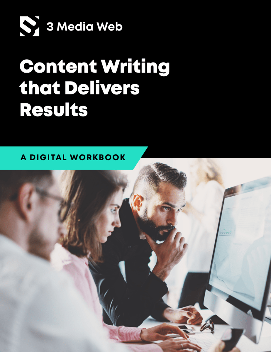 The 3 Media Web content writing ebook.