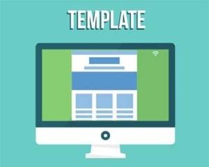 Template Website Design.