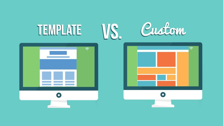 Custom writing website template design vs