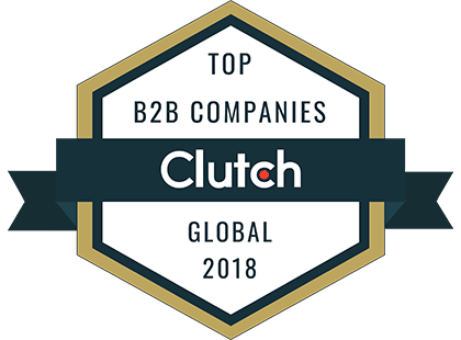 Clutch: Top B2B Companies Global 2018 Award