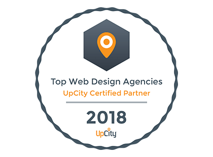 Top Web Design Agencies: UpCity Certified Partner 2018