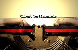 Typewriter-Client Testimonials