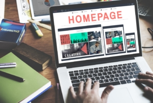 The visual elements of web design require your homepage to stand out.